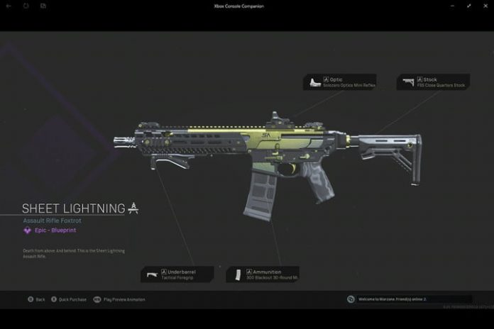 Call of Duty Warzone: How to get Sheet Lightning