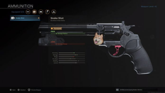 How to get the Snake Shot Akimbo attachments in Call of Duty: Warzone