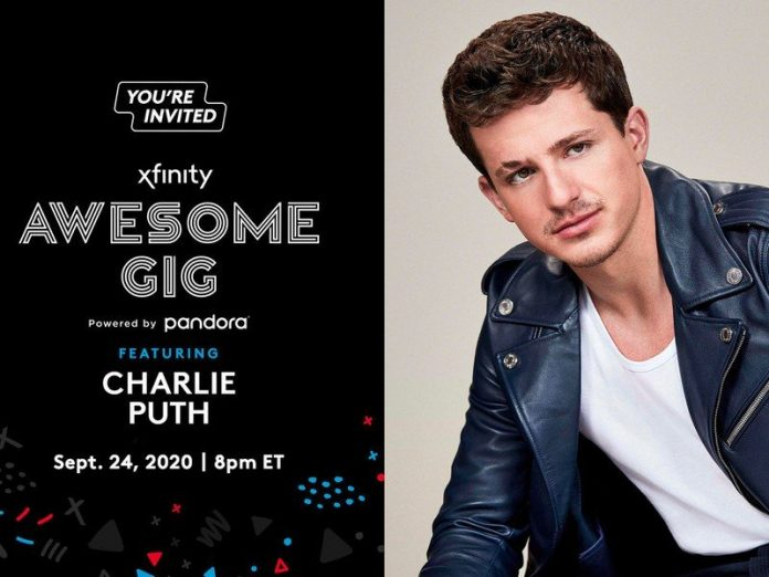 How to watch Charlie Puth Xfinity Awesome Gig live from anywhere