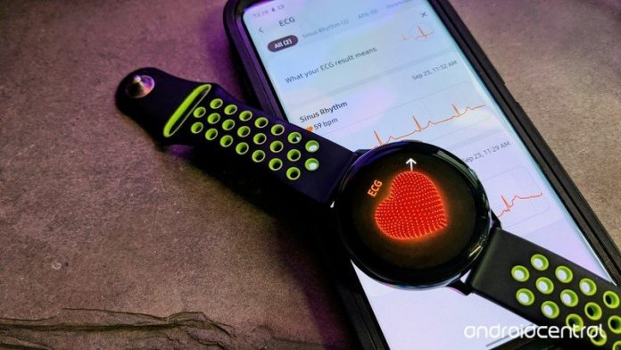 Here's how to use the new ECG function on the Samsung Galaxy Active 2