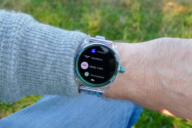 diesel on fadelite mad dog jones smartwatch review mdj apps