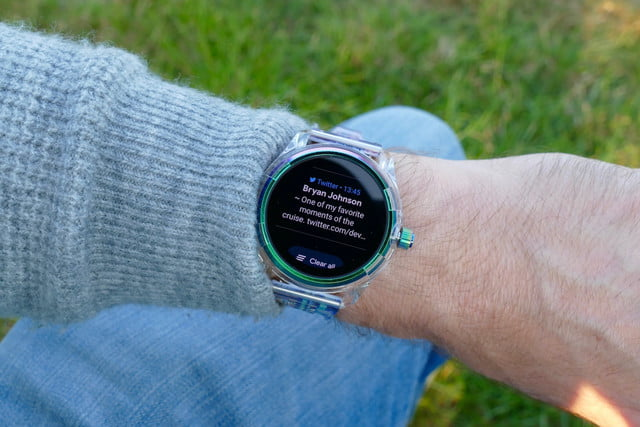 diesel on fadelite mad dog jones smartwatch review mdj notification