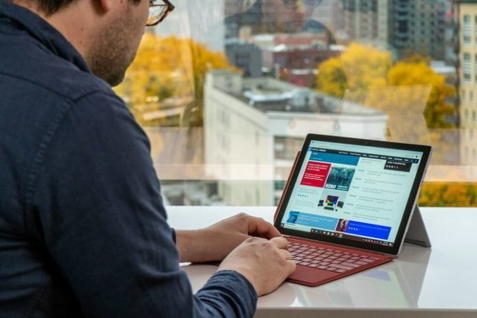 Save $230 on the Microsoft Surface Pro 7 with Type Cover today