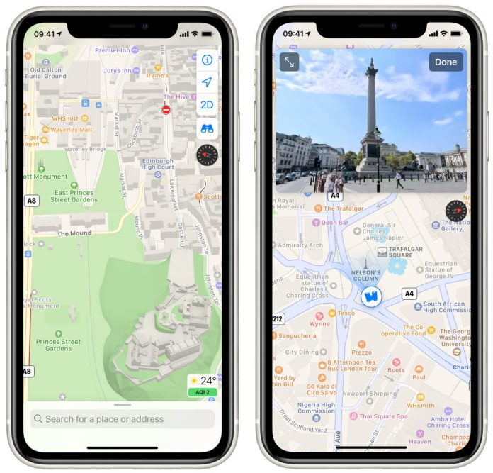 Apple Launches Revamped Maps App in the United Kingdom and Ireland