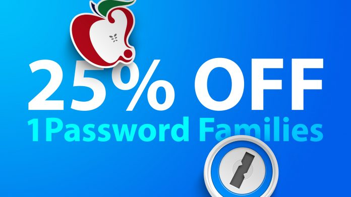 MacRumors Exclusive: Get 25% Off Your First Year of 1Password Families