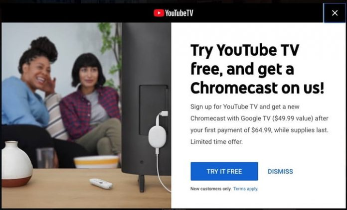 How to get the new Chromecast with Google TV for free