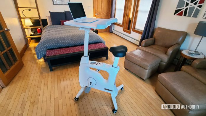 FlexiSpot Desk Bike review: Burn a few calories while you work (but just a few)
