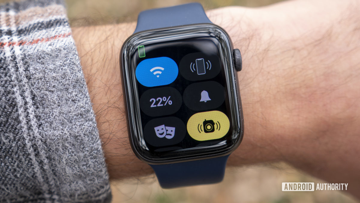 apple watch series 6 review quick settings wifi