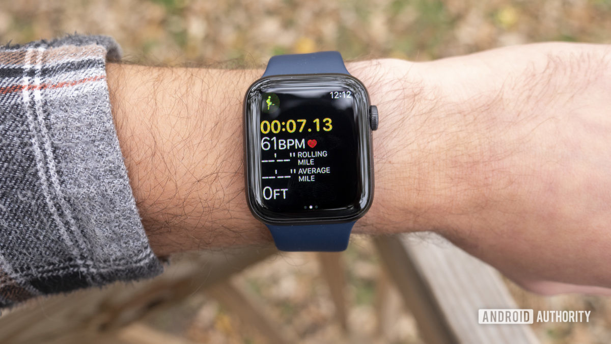 apple watch series 6 review workout screen running gps