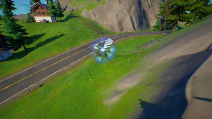 Fortnite season 4 week 8 guide: How to drive a car through a rift