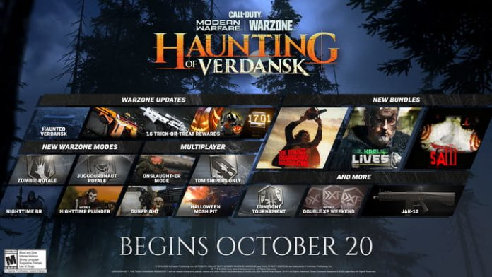 Haunting of Verdansk Call of Duty: Warzone guide