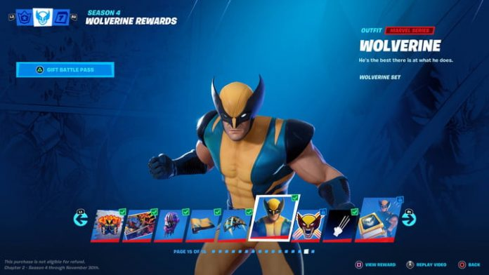 Fortnite guide: How to unlock the Wolverine outfit