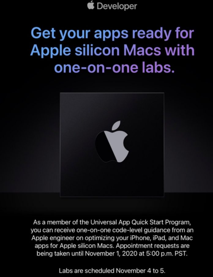 Apple Invites Developers to Get One-on-One Guidance From Engineers Ahead of Apple Silicon Mac Launch