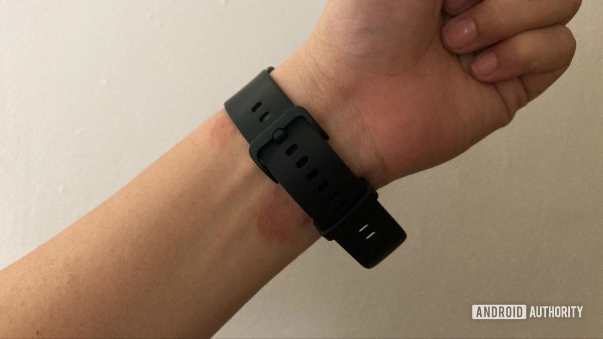 Amazfit Bip U On Wrist