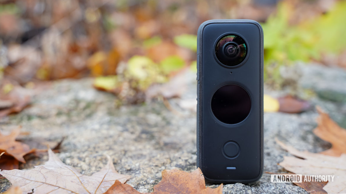 Insta360 One X2 standing tall