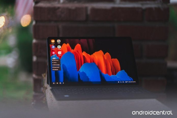 The Galaxy Tab S7+ is the best Android tablet you can buy right now