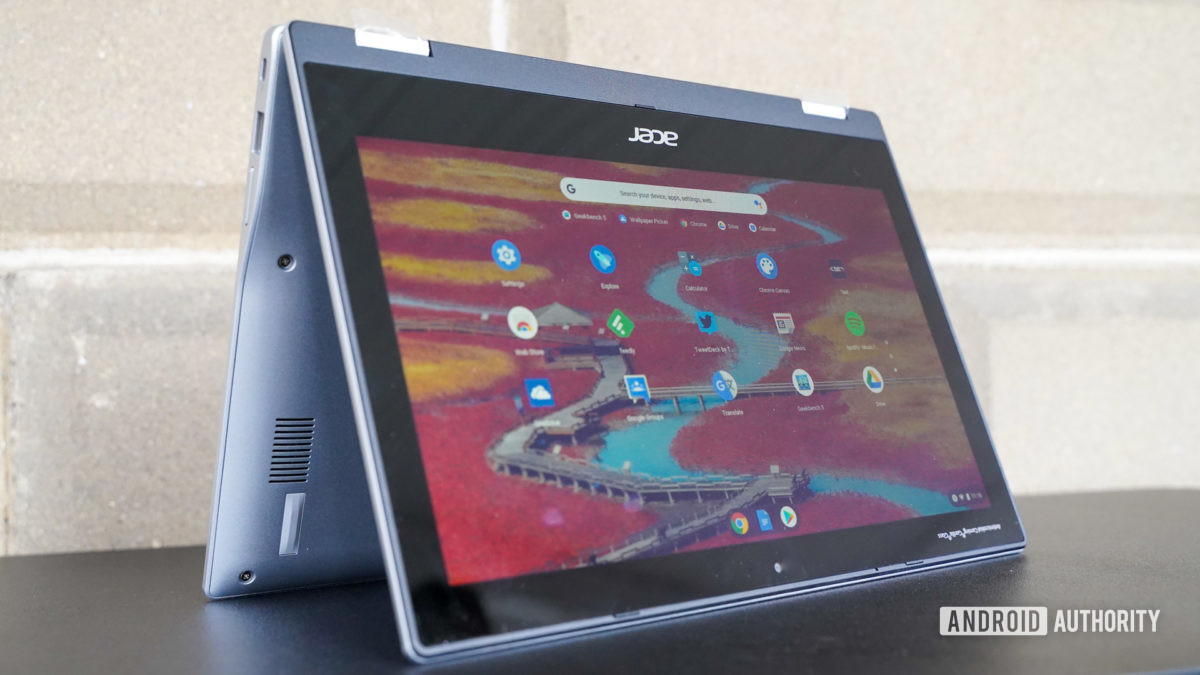 Acer Chromebook Spin 311 tent profile
