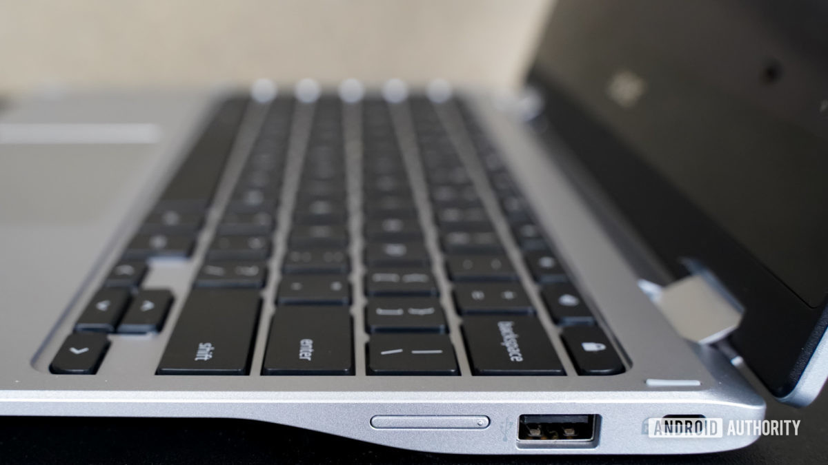 Acer Chromebook Spin 311 right side ports