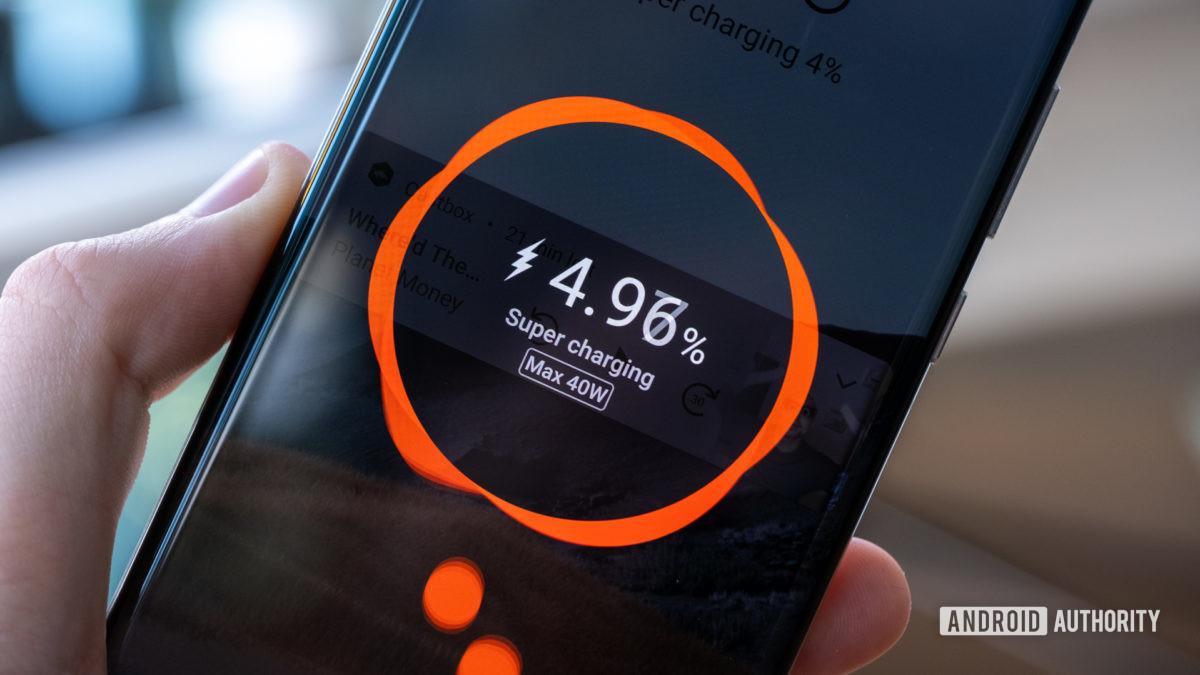 Huawei P40 Pro Plus superharging