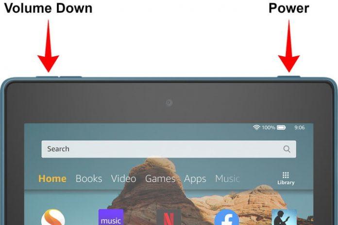 How to take a screenshot on any Kindle Fire