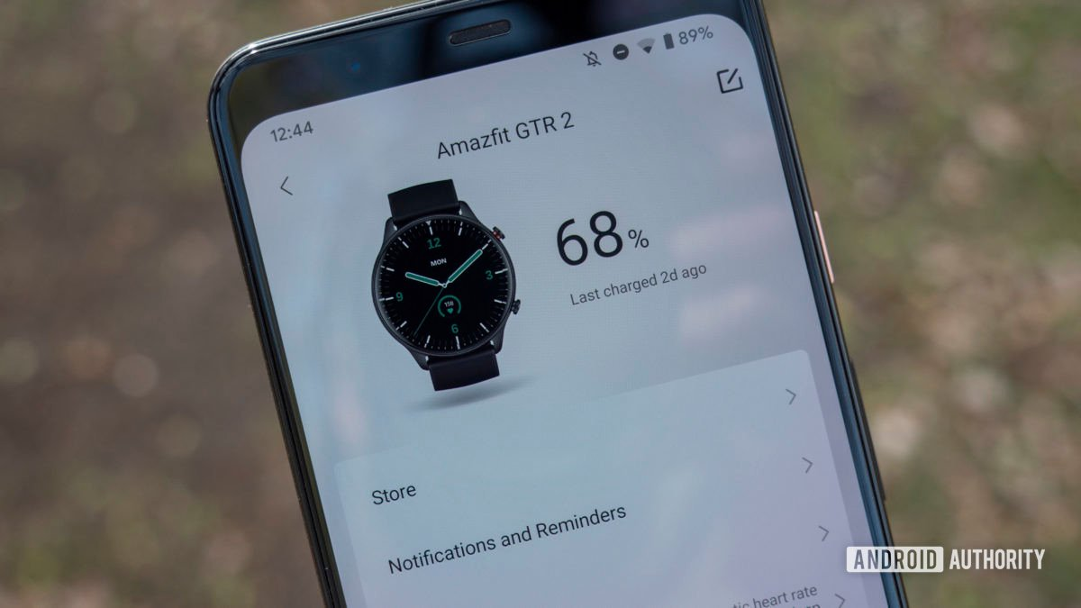 huami amazfit gts 2 and gtr 2 review zepp app battery life