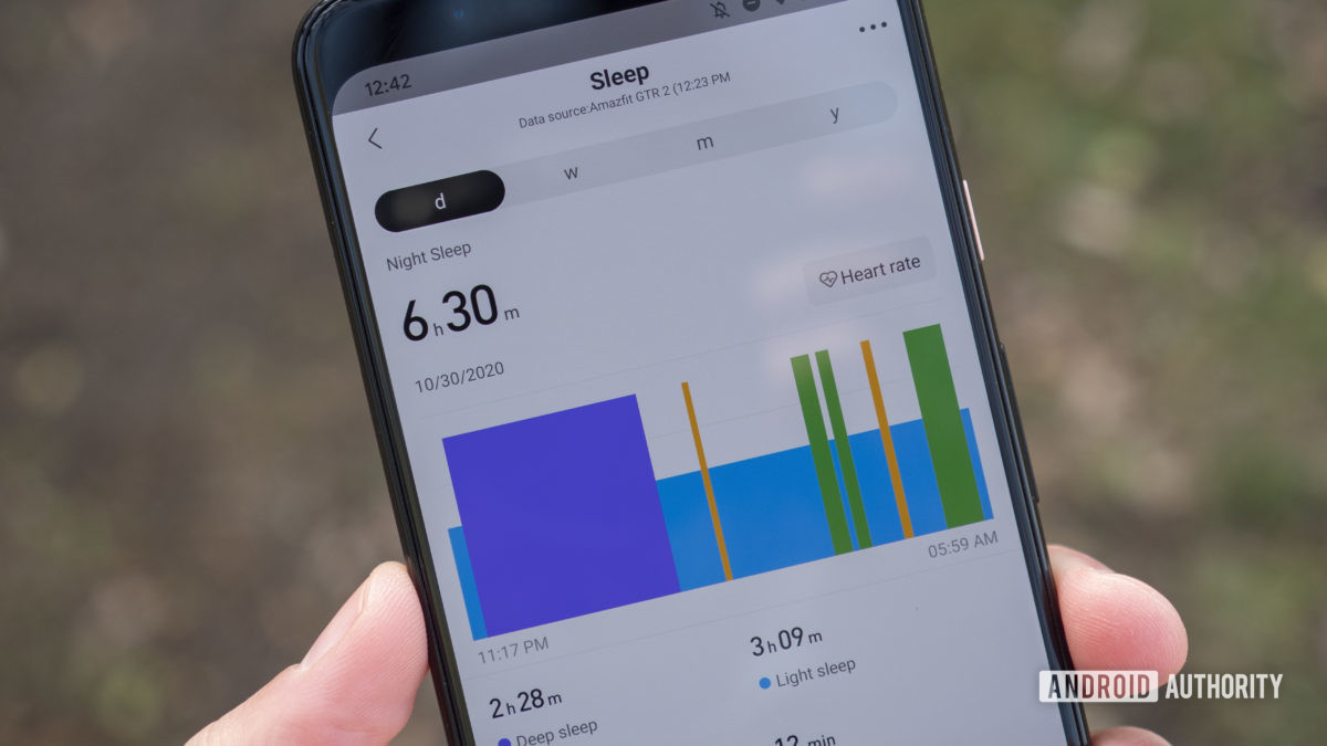 huami amazfit gts 2 and gtr 2 review zepp app sleep tracking