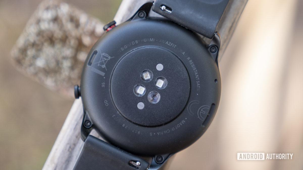 huami amazfit gtr 2 review heart rate sensor