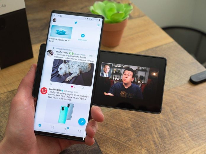 The weird and wacky LG Wing flies to AT&T