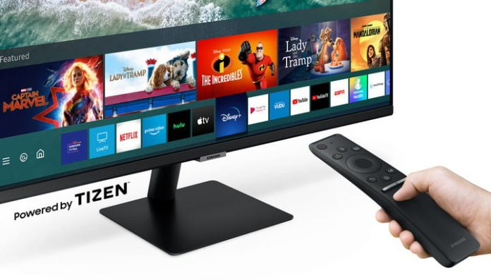 Samsung's new Smart Monitors bring the TV to your desk without the PC
