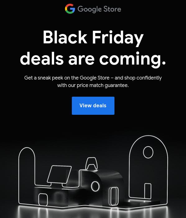Google unveils Black Friday Deals at Google Store