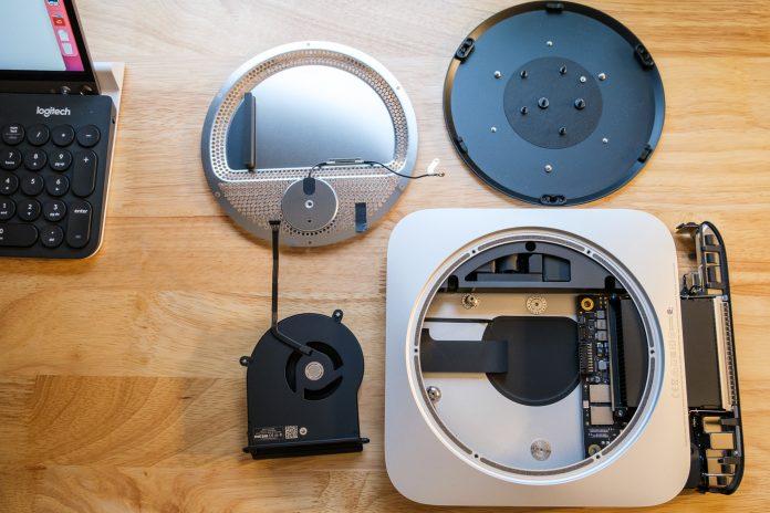 Mac Mini Teardown Provides Real-World Look at M1 Chip on Smaller Logic Board