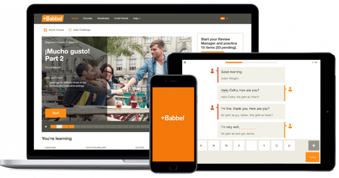 Save 50% and learn up to 14 new languages with Babbel