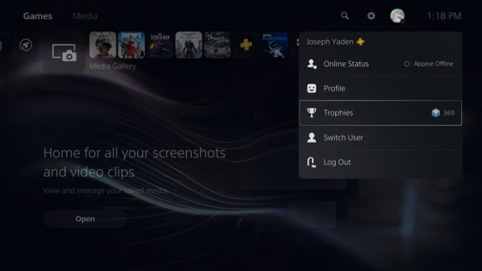 How to turn off trophy videos on PS5