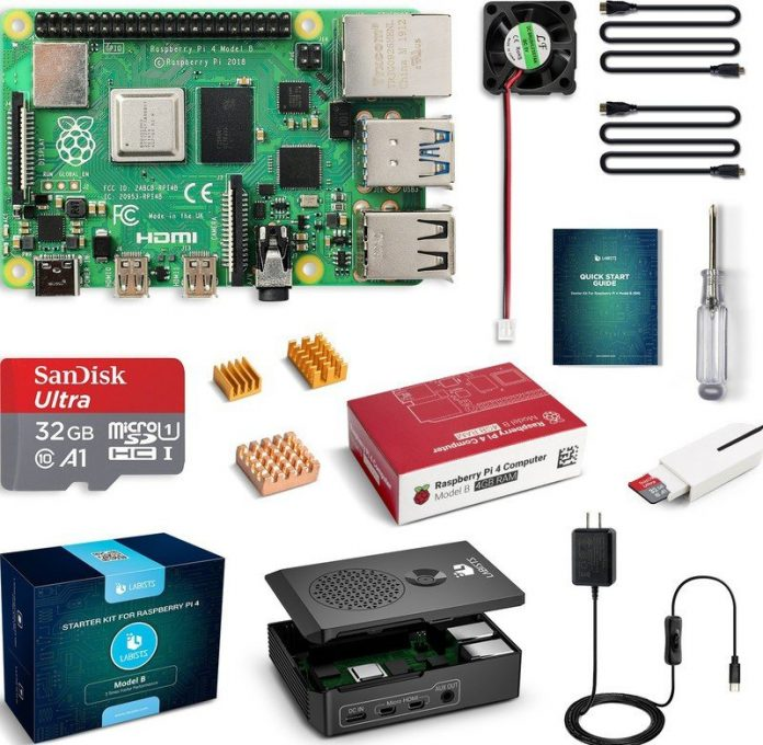 Save 30% on this Raspberry Pi 4 starter kit from LABISTS