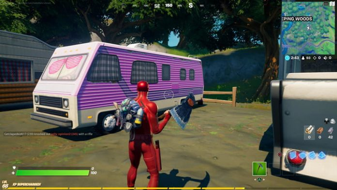 Fortnite season 4 week 14 challenge guide: How to harvest buses and RVs