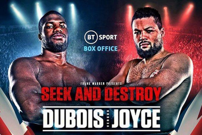 How to watch Daniel Dubois vs Joe Joyce heavyweight boxing live stream