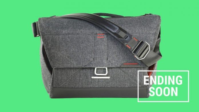 Score Peak Design's Everyday Messenger Bags for half price, today only!