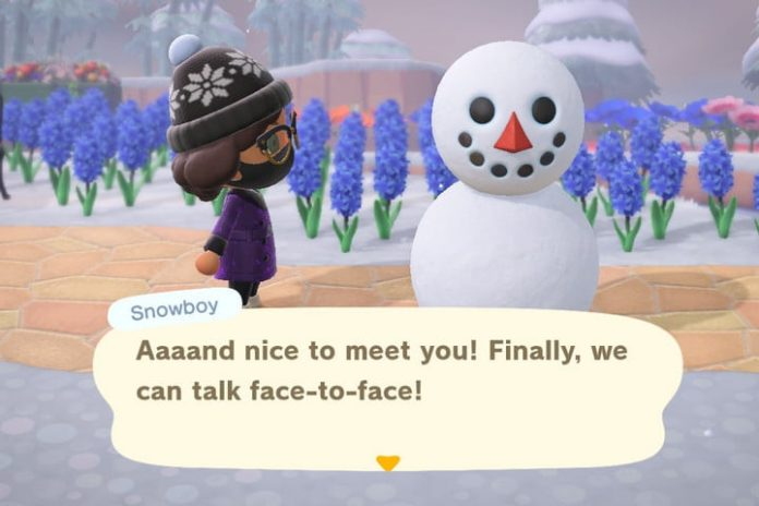 Animal Crossing: New Horizons snowboy guide