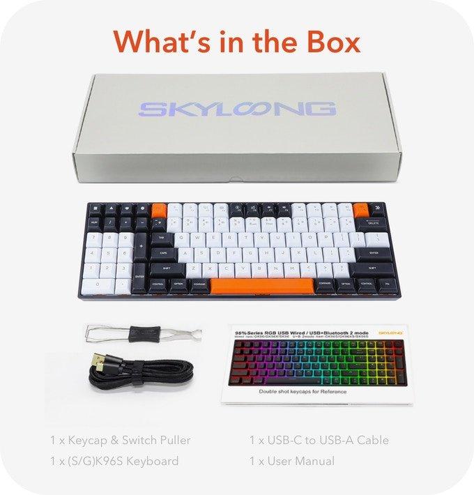 Epomaker GK96 mechanical keyboard Kickstarter campaign