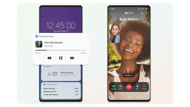 One UI 3.0 Video Call