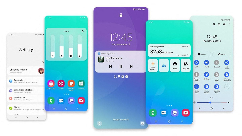 One UI 3.0 Design