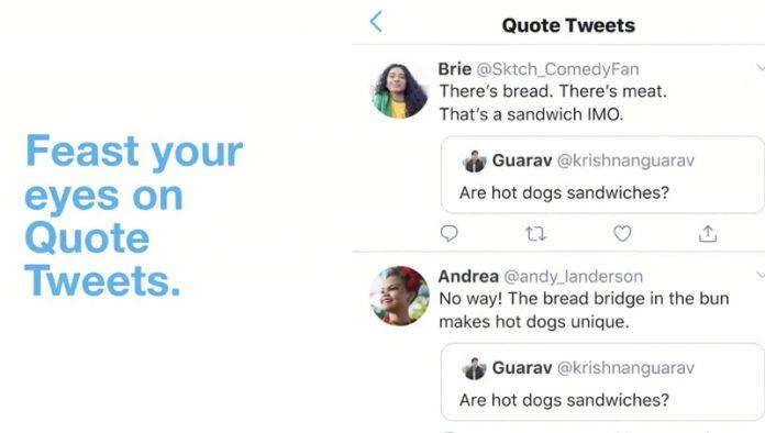 Twitter Kills Quote Tweet Prompt, Returns Retweet Action to Original Behavior