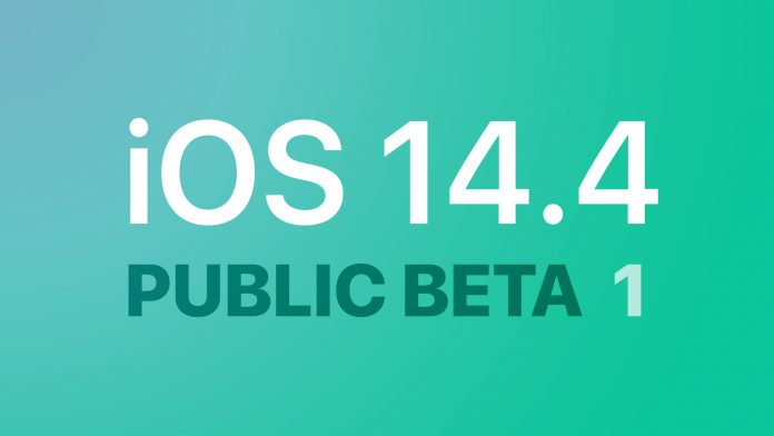 Apple Seeds First Betas of iOS 14.4 and iPadOS 14.4 to Public Beta Testers