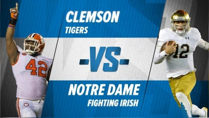 How to watch Clemson vs Notre Dame NCAAF live stream anywhere