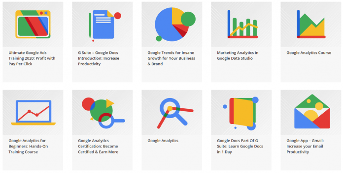 This 10-course bundle boosts your knowledge on all sorts of Google apps