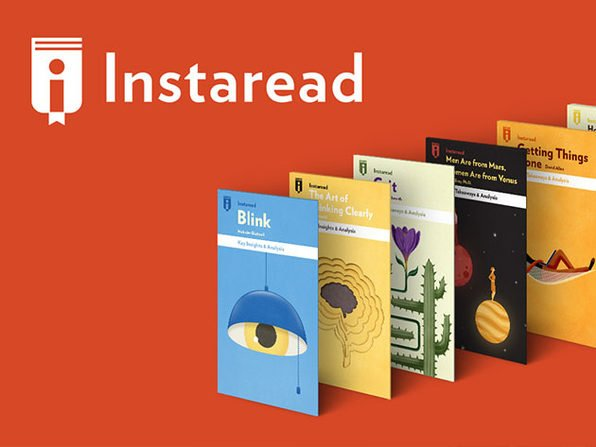 Time is precious — Instaread helps you knock out book in just 15 minutes