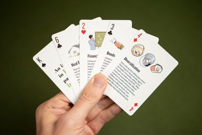 Become a financial expert at the cards table with The Money Deck, now 15% off