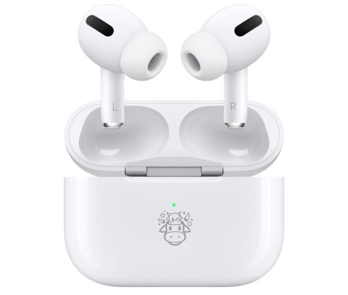 Apple Launches Special Edition Ox-Themed AirPods Pro in China for Chinese New Year
