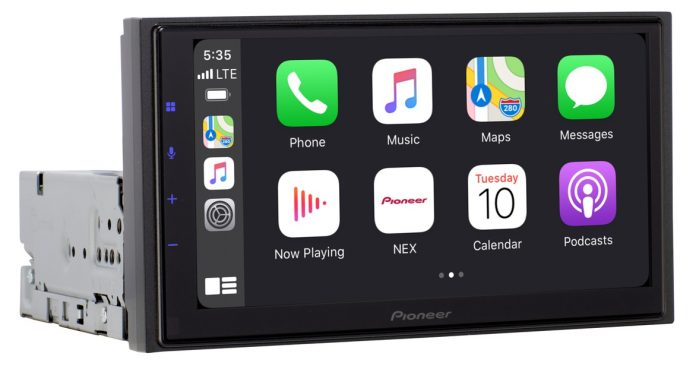 CES 2021: Pioneer Introduces Wireless CarPlay Receiver With Modular Design for Flexible Installation