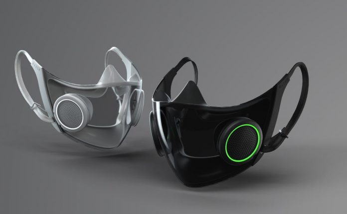 Razer's high-tech face mask filters air and amplify your voice, Bane-style